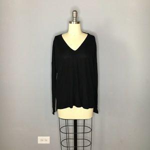 J. Crew Oversized Black Sweater